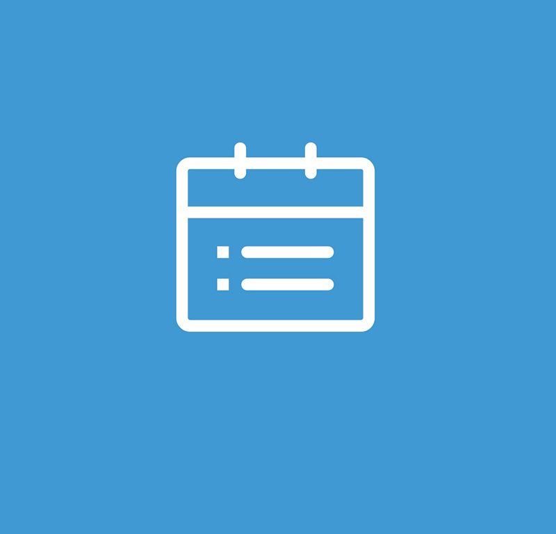 Horaires et calendrier